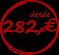 precio carnet de coche 282,80